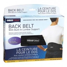 Back Belt with Built in Lumbar Support (Obusforme)