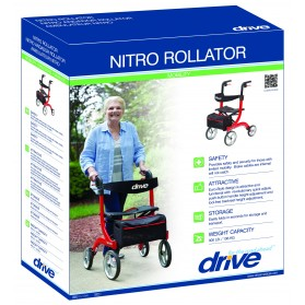 Nitro Euro Style Rollator Walker (Drive)