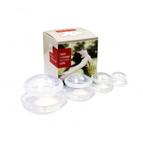 Transparent Silicone Cupping Set of 4