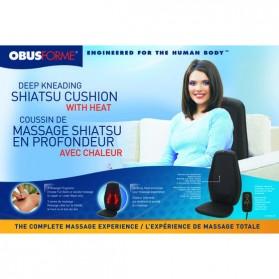 Deep Kneading Shiatsu Massage Cushion- Obusforme