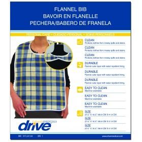 Adult Flannel Bib