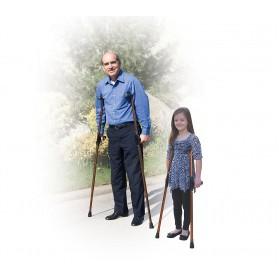 Universal Aluminum Folding Crutch