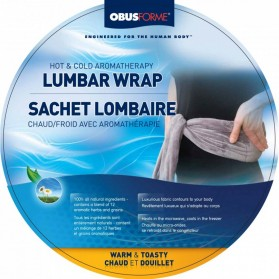 HOT AND COLD AROMATHERAPY LUMBAR WRAP (OBUSFORME)