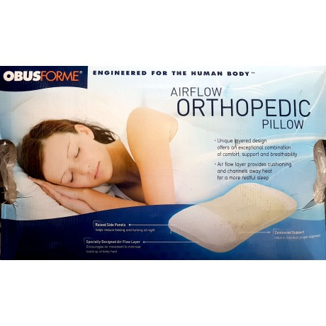 airflow orthopedic pillow