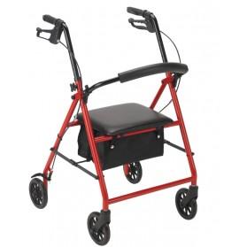 "Steel Rollator with 6"" Wheels (Drive)"