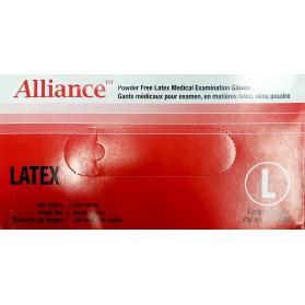 Powder Free Latex Medical Examination Gloves (Alliance)