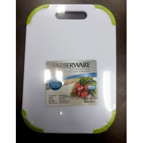 Nonslip Plastic Cutting Board (FARBERWARE)