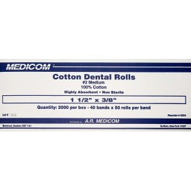 Medicom Medicom Cotton Dental Rolls