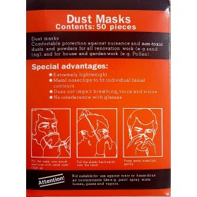 Dust Mask (50/box)