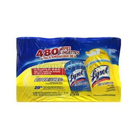 Lysol Disinfecting Wipes  (Lemon & Spring Waterfall)
