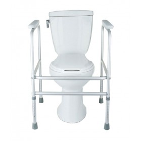 Aluminum Toilet Safety Frame: