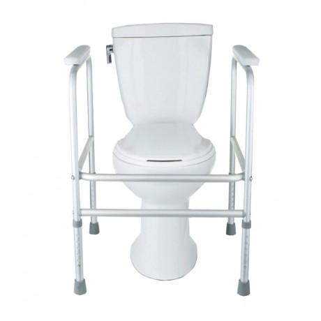 Aluminum Toilet Safety Frame: