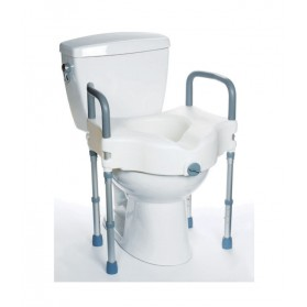 Raised Toilet Seat with Legs: