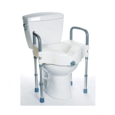 Raised Toilet Seat with Legs:
