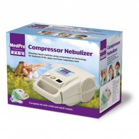 MedPro Compressor Nebulizer (Complete kit with child and adult masks)