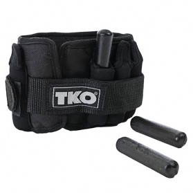 TKO Adjustable Ankle Weights - Pair of 5 lbs