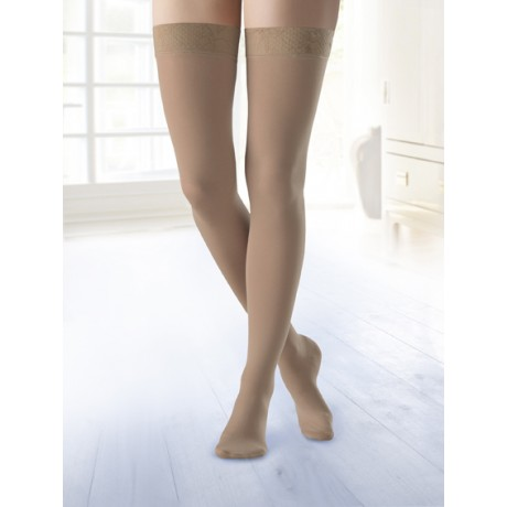 f35701318 BELSANA (Germany) Classic with cotton AG- Thigh length stockings- Ccl. 2-medium  compression (23-32 mm Hg)