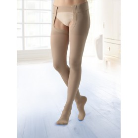 BELSANA (Germany) Classic With Cotton AGT- Thigh Length Stockings With Belt Strap