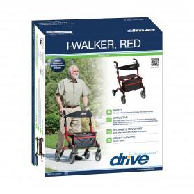 """I-Walker Aluminium Rollator 7"""" Casters"""