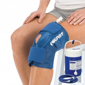 Cryo Cuff  Aircast Knee with IC Cooler