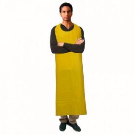 """Polyurethane Die-cut Yellow Apron 35""""x45"""""""