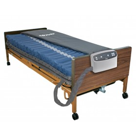 """Med-Aire Plus 8"""" Alternating Pressure and Low Air Loss Mattress System"""