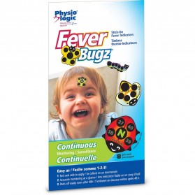 Fever-Bugz® Stick-On Fever Indicators – Celsius