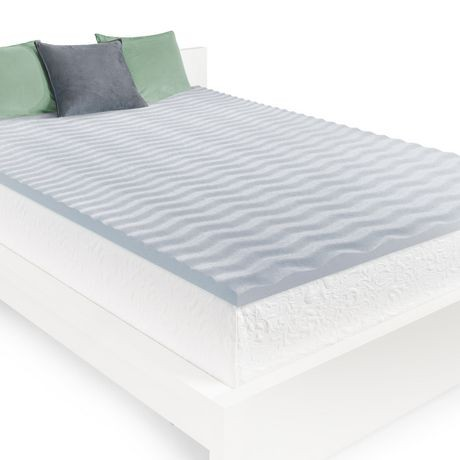 "HoMedics 2""Cool Wave Memory Foam Mattress Topper (Queen)"