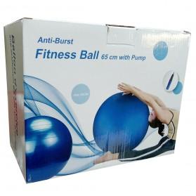 Anti-Burst Fitness Ball With Pump