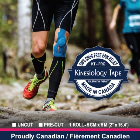 Kinesiology Tape (KT-PRO)- Made In Canada
