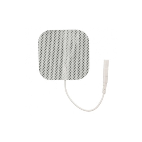 "K120 White Cloth Electrodes Square 2""x2"" (5cm x 5cm)- 4/ Pack"