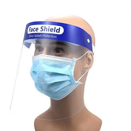 Face Shield Mask Single
