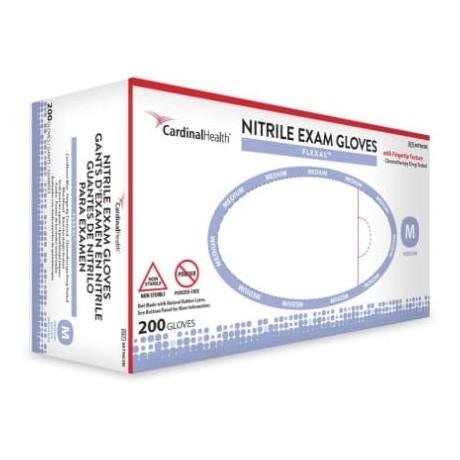 Nitrile Examination Gloves-  Flexal™ Powder-Free, Non-Sterile (200/Box)- Medium