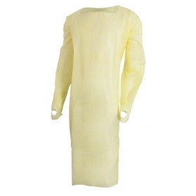 CPE Isolation Gown (Non-Woven)
