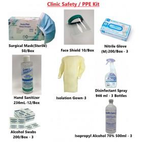 Clinic Safety / PPE Kit