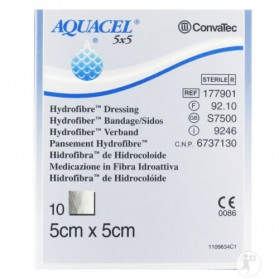 AQUACEL® Hydrofiber® Dressing, White- 10ea/box