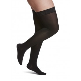 Sigvaris 860 Essential Opaque Thigh High Closed Toe 20-30 mmHg