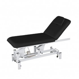 2 Section Electric Height Massage Table- Dark Grey