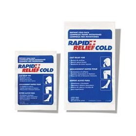 Instant Cold Packs- Rapid Relief